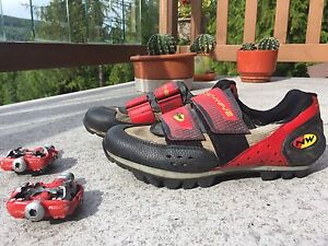 Northwave Bike shoes with Ritchey pedals