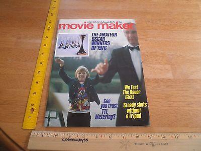 Movie Maker Magazine 1976 Amateur Oscar Winners Films Equiptment