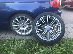 4 mags d'hiver avec pneus d'hiver