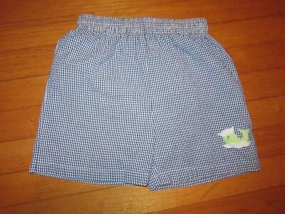 The Best Dressed Child Blue Seersucker Whale Swim Shorts Size (The Best Dressed Kid)