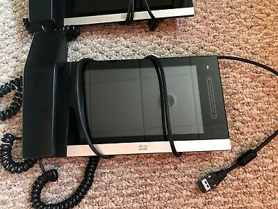 Cisco Cts-ctrl-dv8 Telepresence Touch 8-inch For Ex Series W Handset-tested