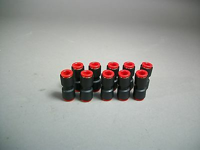 Lot Of 10 Smc Kqh11-00 Fitting Kq One Tough Fitting - New