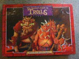 The Spotter's Guide To Trolls Puzzle Book ***NEW***