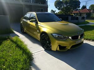BMW M3 F80 DCT  for sale 115K ONO Bankstown Bankstown Area Preview