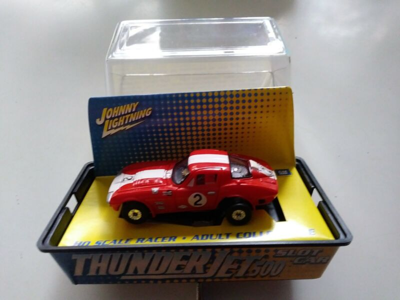 JOHNNY LIGHTNING TJET 500 CHEVY CORVETTE GRAN SPORT RED W/WHITE STRIPE NEW