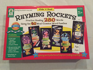 Slide 'n' Read Rhyming Rockets