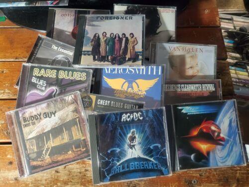 You Choose! Any Rock, Classic Rock, Hard Rock, Metal, or Blues CD $1.99 Each