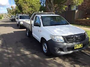 2012 TOYOTA HILUX  AUTO TNG16R ALLOY TRAY UTE,1 OWNER Westmead Parramatta Area Preview