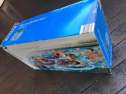 Wanted: Red Motorised Bumper Boat by crane - GREAT VALUE