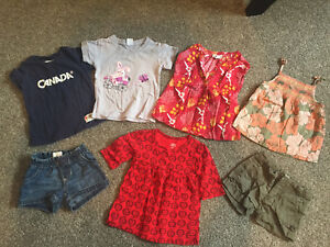 Girls size 2-3 bag of clothes