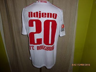 FC Augsburg Original DoYou Football Matchworn Trikot 2009/10 + Nr.20 Ndjeng Gr.M image