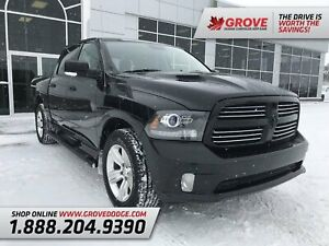 2014 Ram 1500 Sport| Leather| Sunroof| Remote Start