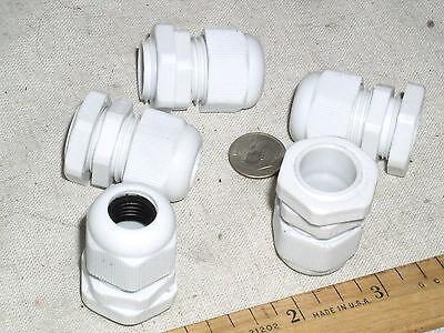 5 Liquid Tight 14-716 6-11mm Cord Grip Cable Hub Fitting Gland 1316 Hole Usa