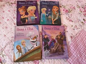 Anna and Elsa Books Hardcovers