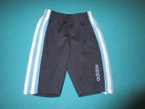 ADIDAS Boys Blue Athletic Pants Size 3 Months 3M