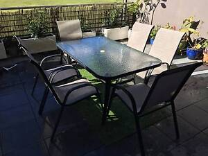 Palma 7 Piece Dining Setting in excellent condition, 2 years old Little Bay Eastern Suburbs Preview
