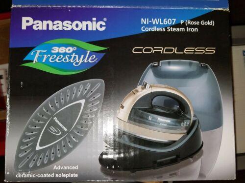 Panasonic NI-WL607 Cordless Steam Iron in ROSE GOLD