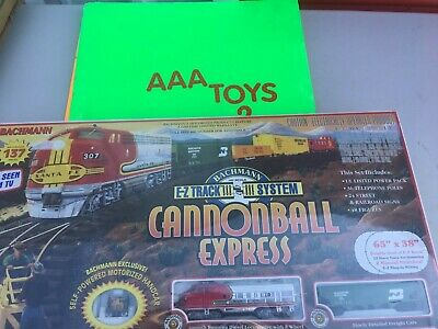 LIONEL CANNONBALL EXPRESS HO GUAGE TRAIN SET NEW SEALED