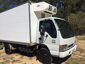 ISUZU REFRIGERATED FREEZER FOOD SERVICE TRUCK WITH 240v STANDBY HOOKUP Southport Gold Coast City Preview