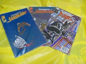 Images of Shadow Hawk Comic Books