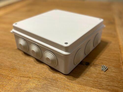 ToroBox 200x200x80mm Junction Box w Holes IP65 Waterproof Electrical Dust-Proof