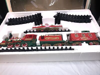 Santa Land Musical Holiday Train Set-Around Christmas Tree-1997 Bright #181