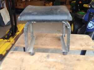 Stool on casters
