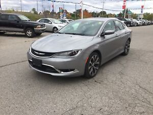 2016 Chrysler 200 C | NAV | LEATHER | PANO ROOF | CAM