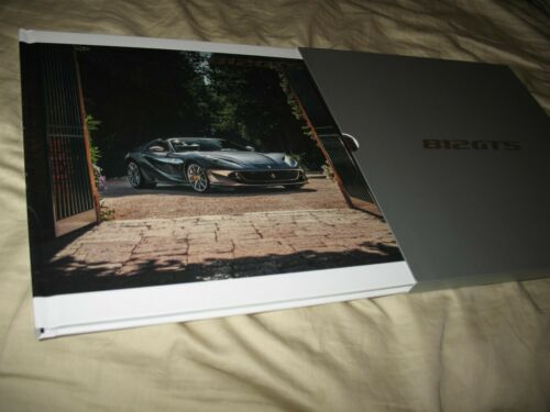 Ferrari 812GTS hardcover prestige brochure with slipcase 6801/20