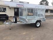BRAND NEW 7x5  GAL BOX TRAILER 900MM CAGE RAMP TILT SPARE WHEEL Maryborough Fraser Coast Preview