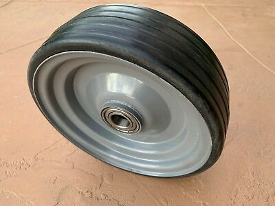 Sicma 10 X 3 Solid Wheel 6602739 For 60 And 72 Finish Mowers