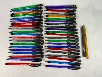 Paper Mate Lot Of 44 Mechanical Pencils 0.7 Mm Assorted Colors