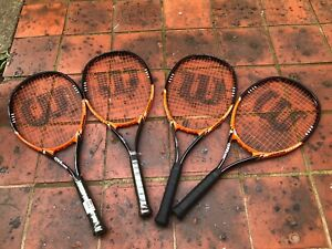 ‼️‼️GOOD CONDITION WILSON TENNIS RACQUETS 2 LEFT‼️‼️