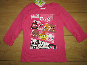 GIRLS NEXT MOSHI MONSTERS TOP SIZE 6 YEARS BNWT