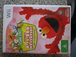 Sesame Street - Elmo's A-Zoo Adventure Wii Game ***BRAND NEW*** Campbell North Canberra Preview