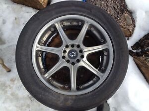 "17"" cr racing multi fit 5 bolt"
