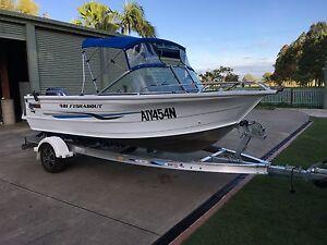 Quintrex 481 fishabout Port Macquarie Port Macquarie City Preview