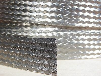 """9/"""" long Universal Automotive Ground Strap 3//4/"""" Tinned Braid with 3//8/"""" terminals"""