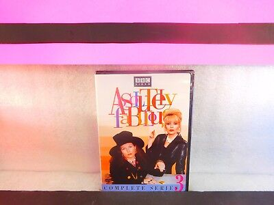 Absolutely Fabulous complete series 3 on DVD New Sealed