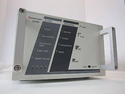 New - Shimadzu Ei-203m Turbo Molecular Pump Controller Tmp Cable Brackets