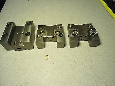 Mori Seiki Daewoo Haas Okuma Block Tool Holder Lot Of 3