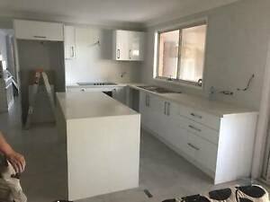Polyurethane Gloss White Kitchen Cabinet Module o 24227