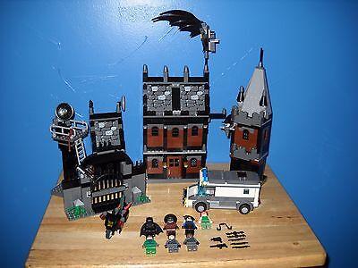 LEGO BATMAN ARKHAM ASYLUM 7785 100% COMPLETE UNUSED STICKER SHEET  - Lego Batman Sheets