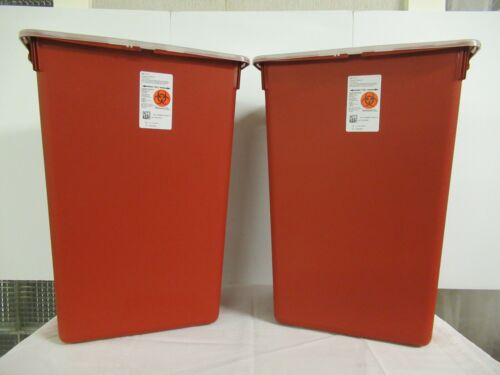 (2 Pack) Sharps-A-Gator Sharps Container 15.5H X 21.5W X 12D 10 Gallon