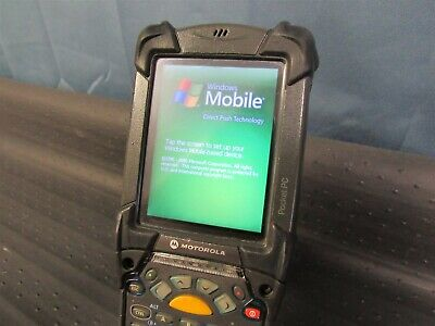 Symbol Motorola Mc9090 Mobile Windows Pocket Pc Barcode Scanner