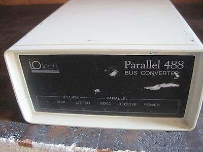 Iotech Parallel 488 Bus Converter Lot Q382