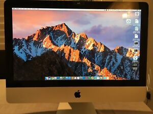 "iMac 21.5"" mid 2011 w/wireless keyboard & trackpad"