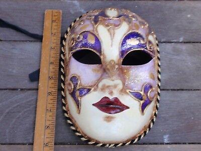 Vintage Pappmaché Kostüm / Mardi Gras / Theatralisch Maske - Pappmaché Kostüm