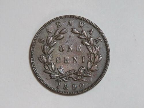 1890-H Sarawak One Cent