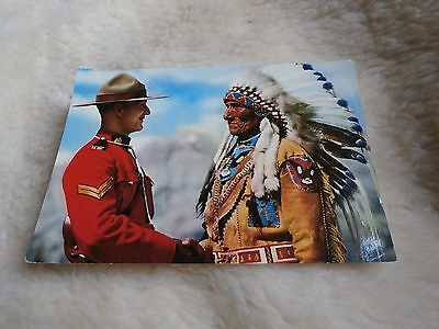 @ CANADA - MOUNTIE - CHEIF SITTING EAGLE - INDIAN (A)